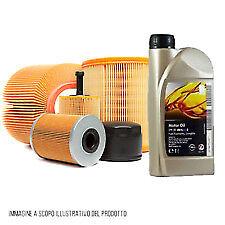 KIT TAGLIANDO 6 LT OLIO GM 5W30+ 4 FILTRI OPEL Astra J 1.7 CDTI 125 CV Dal 2009