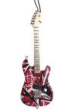 "Mini Guitar Evh Collectible 6"" Hanging Ornament Guitar FrankenStrat FrankenStein"