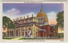 Canada postcard - St James Cathedral, Montreal (A141)