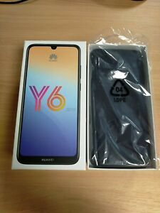 Huawei Y6 2019  Midnight Black 4G LTE 32GB Smart Phone / Android 9.0 / O2