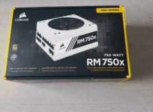 BNIB Corsair RM750x 750W 80 Plus Gold Rated Desktop ATX Fully Modular Power