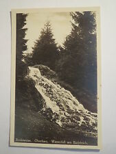 Bockwiese - Oberharz - Wasserfall am Badeteich - 1942 - Harz / AK