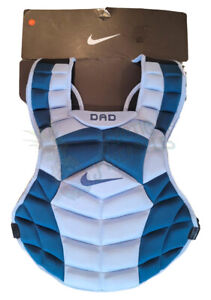 """Nike Fathers Day DAD Baseball Catcher's Chest Protector 17"""" PBP613-940 RARE New"""