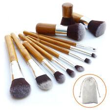 11pcs Pro Trousse pinceaux de maquillage cosmétique Makeup Brush Brosse Set Kit