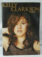 "KELLY CLARKSON 2004 ""INDEPENDENT"" CONCERT TOUR BROCHURE 1ST WORLD TOUR"