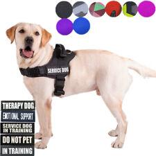ESA Dog - Service Dog - Therapy Dog - Waterproof Vest Harness Size XS S M L XXL