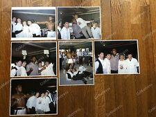 FULL SET of 6 Beatles + Muhammad Ali COLOR Photos Negative Miami '64  ** LARGE
