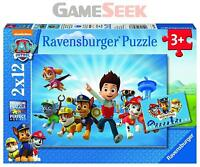 RAVENSBURGER PAW PATROL 2X 12PC JIGSAW PUZZLE - TOYS BRAND NEW FREE DELIVERY