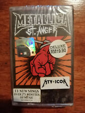 Metallica - st. Anger - Malaysia Original Press Cassette (Brand New)