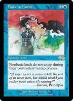 BACK TO BASICS Urza's Saga MTG Blue Enchantment RARE