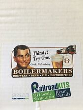 railroad kits ho structures resin details ho boilermaker brewery
