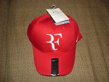 NWT Nike Federer RF Dri-FIT Legacy 91 Tennis Hat Cap Gym Red 371202-621 Nadal