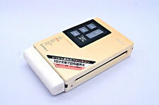 SANYO jj-p101 JJ P 101 walkman cassette player veryrare with earphone and remote
