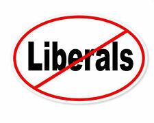 No Liberals Sticker Vinyl Decal 4-654