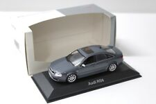 1:43 Minichamps audi rs6 Limousine dark grey dealer New en Premium-modelcars