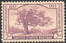 SC#772 - 3c Connecticut 300th Anniversary Issue Single MNH