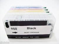 Non-OEM Refillable Ink Cartridges SET HP 950 951 Officejet 8600 8100 8615 8625