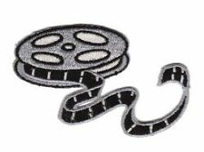 Movie Reel Film Embroidered IronOn Applique Patch w0121
