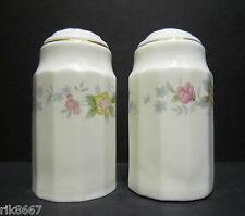 Alpine English Fine Bone China Salt and Pepper By Milton China (Gold rim)