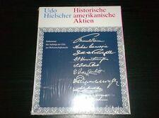 Historische amerikanische Aktien - Udo Hielscher – noch ORIGINALVERPACKT !