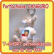 """PORTACHIAVI """"CANGURO"""" PERSONALIZZATO CON LA TUA FOTO!"""