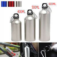 Bike Sports Water Bottles Container Drinking Kettle Aluminum Outdoor Exercise