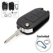 2 Botones Carcasa Llave Remoto Key For Opel Vauxhall Astra G Vectra Omega Zafira