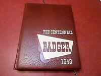1949 UNIVERSITY OF WISCONSIN MADISON yearbook -  - BADGER