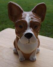 French Bulldog money box , french bull dog ceramic money pot