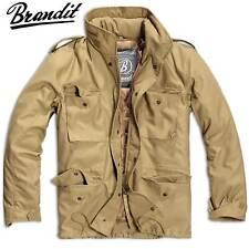 Brandit Herren Winter Jacke M65 Field Jacket Feldjacke Camel S