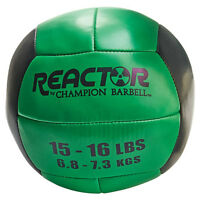 Reactor by Champion Barbell™ Medicine Ball 15-16lb - Green