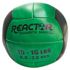 Reactor by Champion Barbell™ Medicine Ball 15-16lb - Green