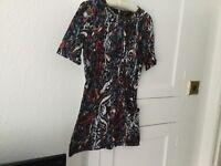 Topshop Dress Size 12 .