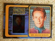 STAR TREK  Complete Deep Space nine DS9 G6 Gallery JULIAN BASHIR  A Siddig