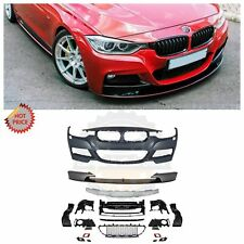 12-18 F30 MSPORT MTECH FRONT BUMPER W/ LIP FOR BMW F30 F31 3 SERIES 4D 5D NO PDC