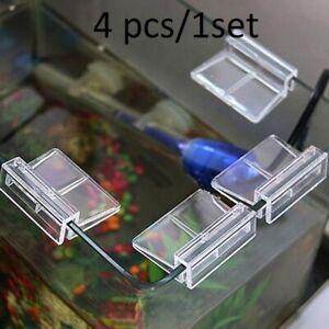 Fish Tank Holder Aquarium Clips Aquatic Pet Fish Acrylic Glass Cover Sup Parts