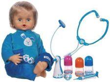 Babypuppen-Motiv aus Kautschuk