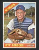 1966 Topps #257 Jeff Torborg GVG Dodgers 36281