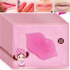 5pc/10pcs Women Collagen Crystal Lip Care Mask Anti Ageing Wrinkle Moisturising