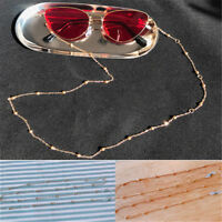 Fashion Glasses Sunglasses Chain Holder Gold Lanyard Necklace Neck Cord String