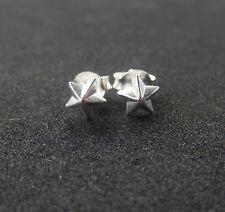 New Earrings Stars Sterling Silver Tiny Post Studs