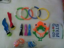 14pcs Underground Swimming Toys