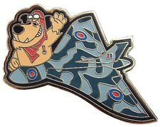 MUTTLEY THE FLYING ACE RAF AVRO VULCAN BOMBER ENAMEL PIN BADGE