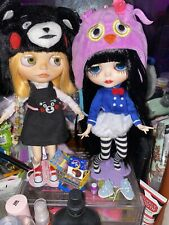 2 custom ooak blythe doll