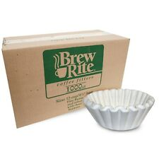 Bunn Brew Rite Regular Coffee Maker Filters 12 Cup Commercial White 1000 ct Pack
