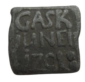 1701 Gask Scottish Church Communion Token