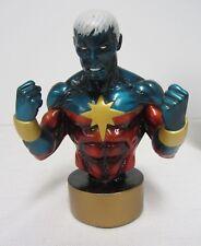 Bowen Studios  ~ Captain Marvel  Mini-Bust ~ 399/3500 ~ Painted  2002 C2