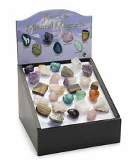 WHOLESALE Rock and Mineral Magnet Pack X60 Magnets with Display Unit
