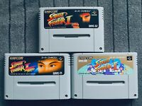 Super Street Fighter II 2 Turbo Set Super Famicom SFC SNES Nintendo Japan