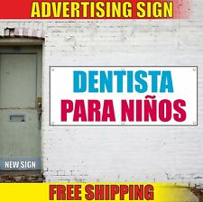 Dentista Para NiÑOs Banner Advertising Vinyl Sign Flag Dentist For Children open